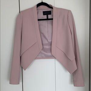 BCBG dusty pink blazer
